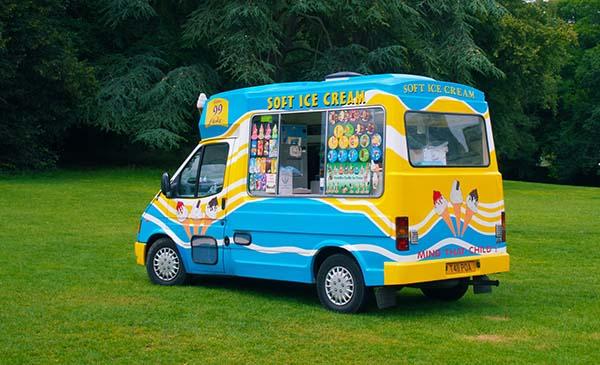 gloss vinyl for ice cream trucks