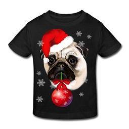 christmas dog on tshirt