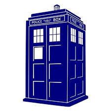 doctor who police box vinyl