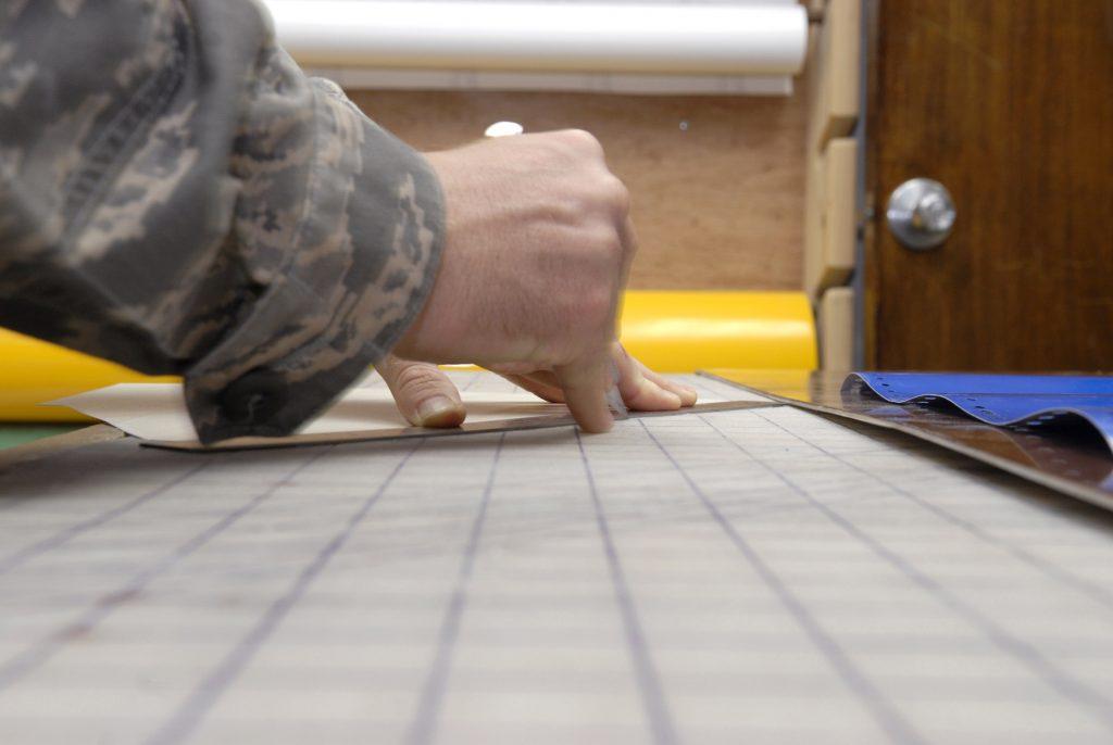 how cutting vinyl film