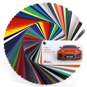 Avery supreme wrap colour wheel