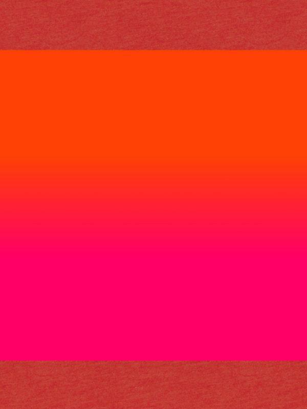 ombre orange, red, prink vinyl