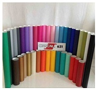 coloured rolls of oracal matt vinyl