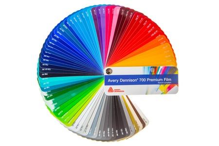 Avery 700 colour palette